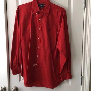 Ralph Lauren Polo cotton button down collar shirt
